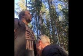 Dois maduro gays se pegando no mato