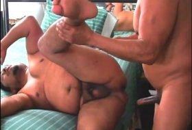 Mexicano dotado metendo na bundinha