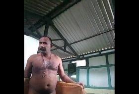 Banho de balde