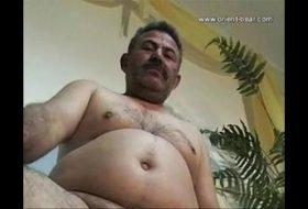 Saudita gordinho gay masturbação completa