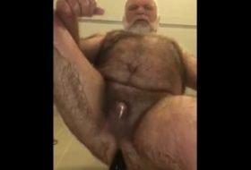 Bear Peludo - Sentando na vara grande com vontade